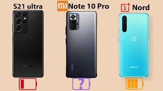 Xiaomi Redmi Note 10 Pro (Max) Battery Drain & Charging Test!