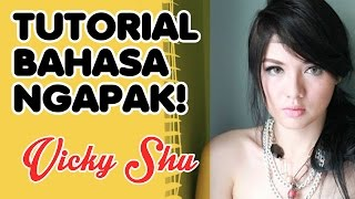Vicky Shu Ngomong Ngapak
