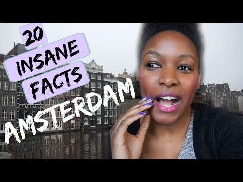 Amsterdam Travel Vlog | 20 Insane Facts About Amsterdam