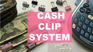OUR CASH CLIP SYSTEM | ALTERNATIVE TO THE ENVELOPE SYSTEM