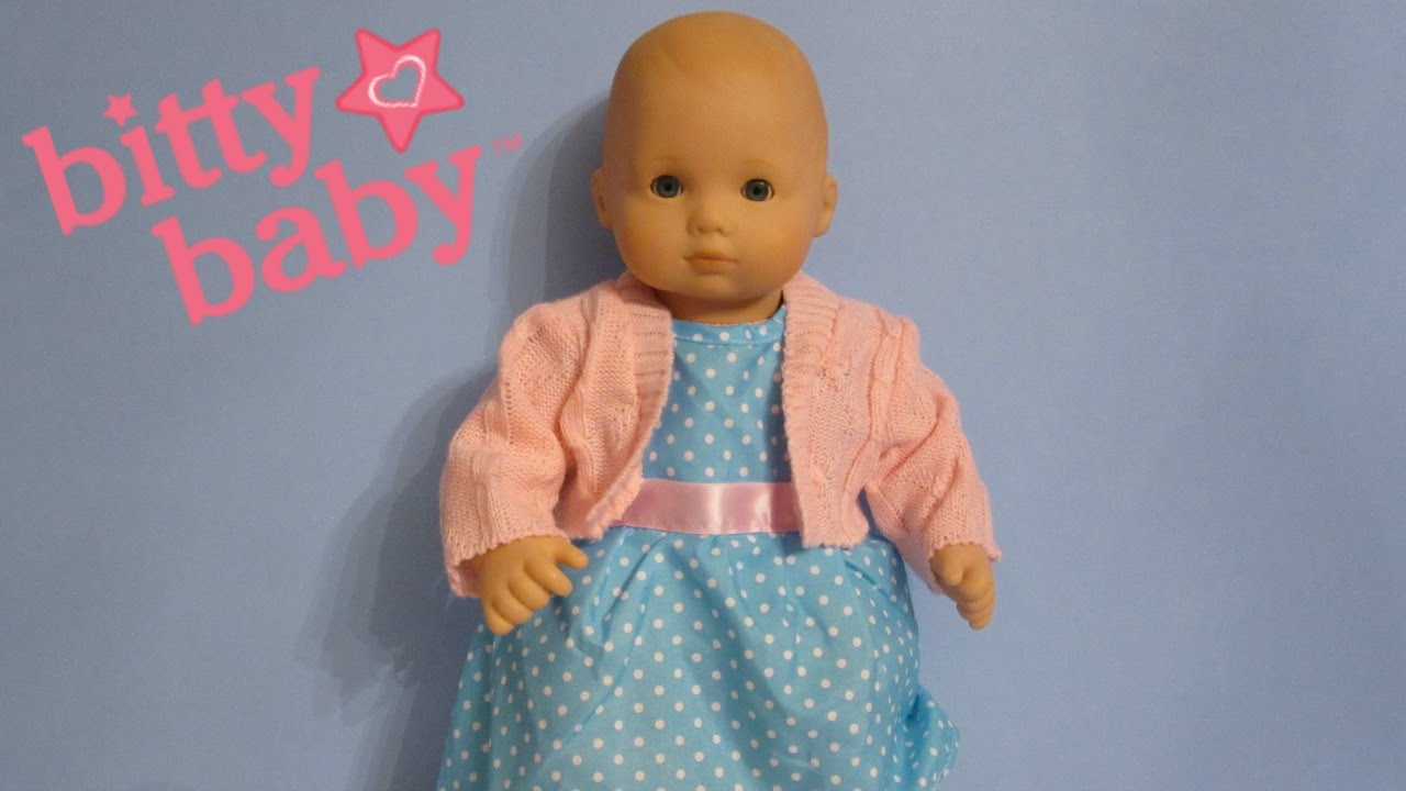 Bitty Baby Clothes You And Me Blue Dress From Toys R Us Youtube
