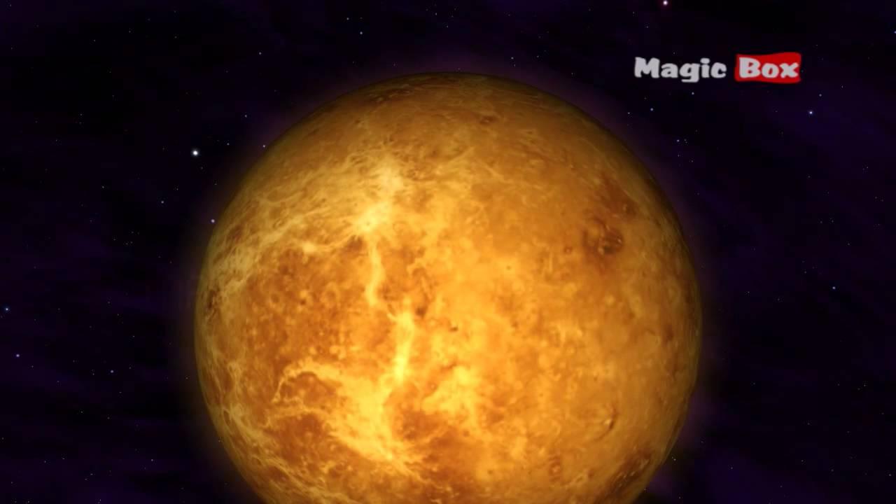 Venus - The Solar System - Animation Educational Videos ...