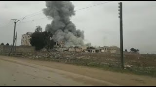 Battles for Syria | January 28th 2020 | Airstrikes, images from Idlib Front