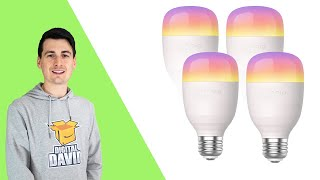 Nooie Smart LED Bulb WiFi Dimmable RGB Compatible w/ Alexa Google Home