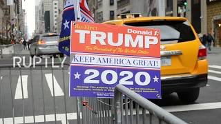 USA: 'Stick to your guns!' - Trump supporters rally in NYC