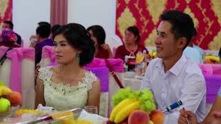 13.Сентябрь 2017, Жалал-Абад. свадебный вечер в ресторане Чынгызхан молодожены счастливы