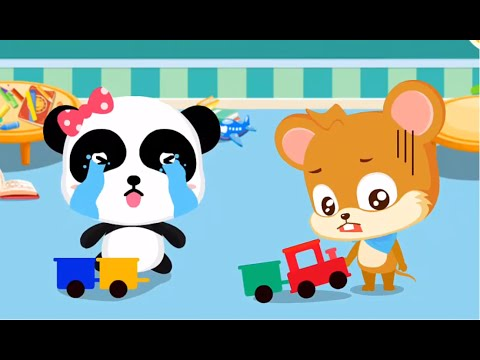 Little Panda Birthday Party | Children Learn The Magic Words | Baby Panda Kids Games