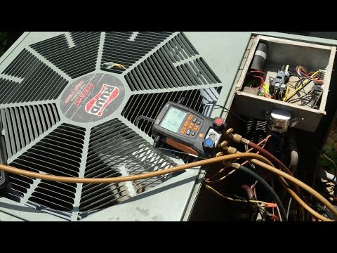 HVAC: Ruud Freon Leak Repair