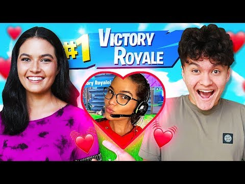 IF YOU WIN FORTNITE, YOU CAN DATE ME (NEW Girlfriend Little Brother FaZe Jarvis)