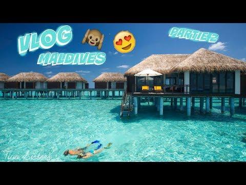 Vlog aux Maldives #2 Découverte de l'ile Sun Island