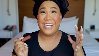 MY FASTEST MAKEUP TUTORIAL (BROADWAY GRWM) | PatrickStarrr