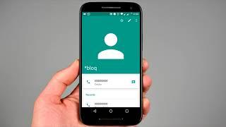 Bloquear ligações e SMS de números indesejados no Motorola Moto G, X...