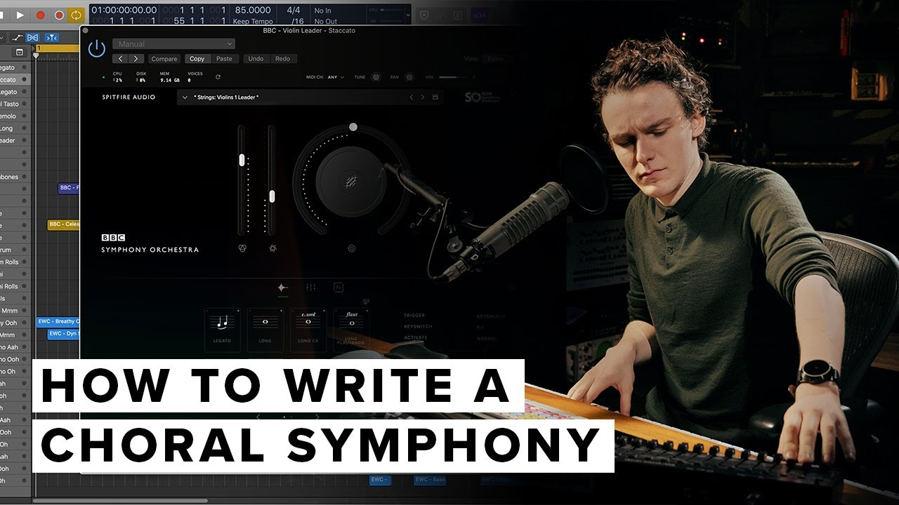 How To Write A Choral Symphony With Eric Whitacre Choir & BBC Symphony Orchestra
