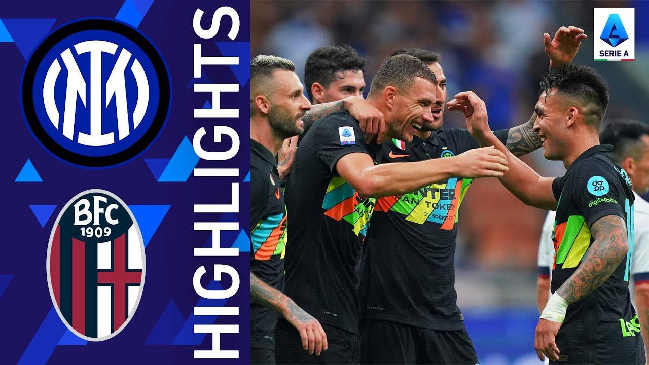 Download Inter 6-1 Bologna | Inter stun Bologna at San Siro | Serie A 2021/22
