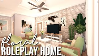 ROBLOX I Bloxburg: Floral roleplay home {113K}