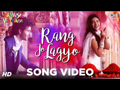 Rang Jo Lagyo - Ramaiya Vastavaiya I Girish Kumar, Shruti Haasan - Atif Aslam, Shreya Ghoshal