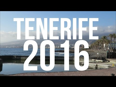 OUR HOLIDAY IN TENERIFE!
