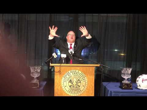Ed Foley Interim HFC (Walk-On's Independence Bowl Press Conference)