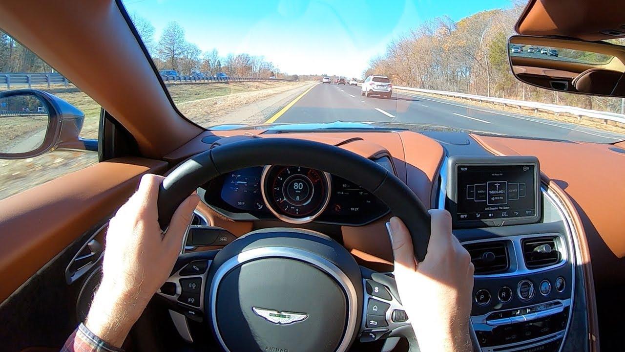 2020 Aston Martin Dbs Superleggera Volante Pov Test Drive By Tedward Binaural Audio Youtube