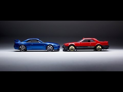 Lamley Saturday Showcase: The Hot Wheels Skyline Family grows with the R30 & R33