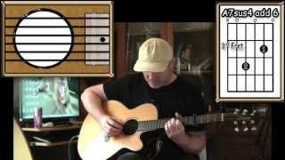 Scarborough Fair - Simon & Garfunkel - Acoustic Guitar Lesson