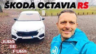 Može li hybrid biti RS? - Škoda Octavia RS iV - Jura se fura