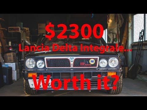 I bought a Lancia Delta Integrale for $2300... Is it worth it? (Spoiler alert: Yes, it is.)