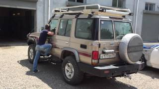 видео Шумоизоляция Toyota Land Cruiser 76 (23 фото)