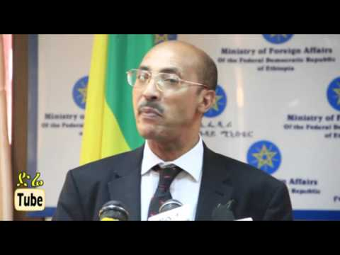 Ministry of Foreign Affairs: Press Conference about current issues in Ethiopia Nov. 2015