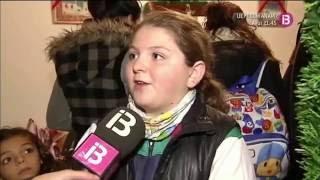 La Casa de Papá Noel en S'Arenal en el programa La Mirada de IB3 (13-12-2012)