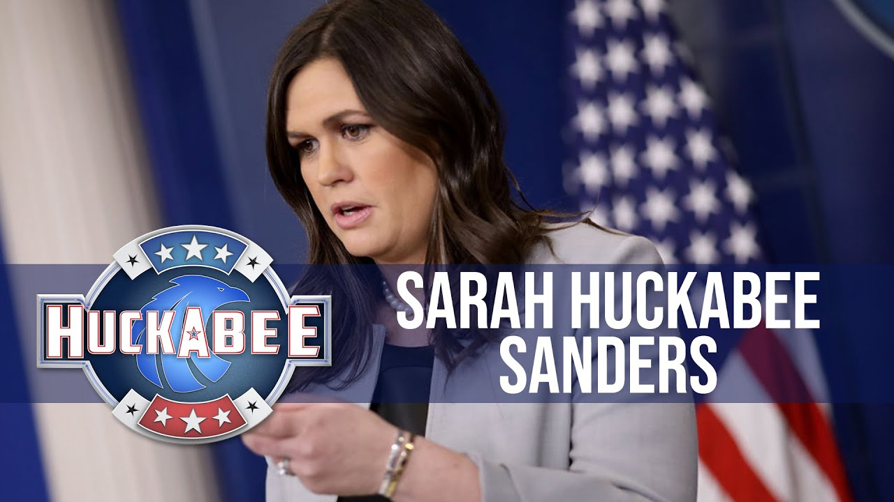 Exclusive: Sarah Huckabee Sanders GETS PERSONAL   Huckabee