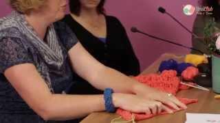 Tijdelijke opzet breien - door Breiclub.nl panel