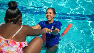 YMCA teaches swimming lessons at Southeast Raleigh Elementary
