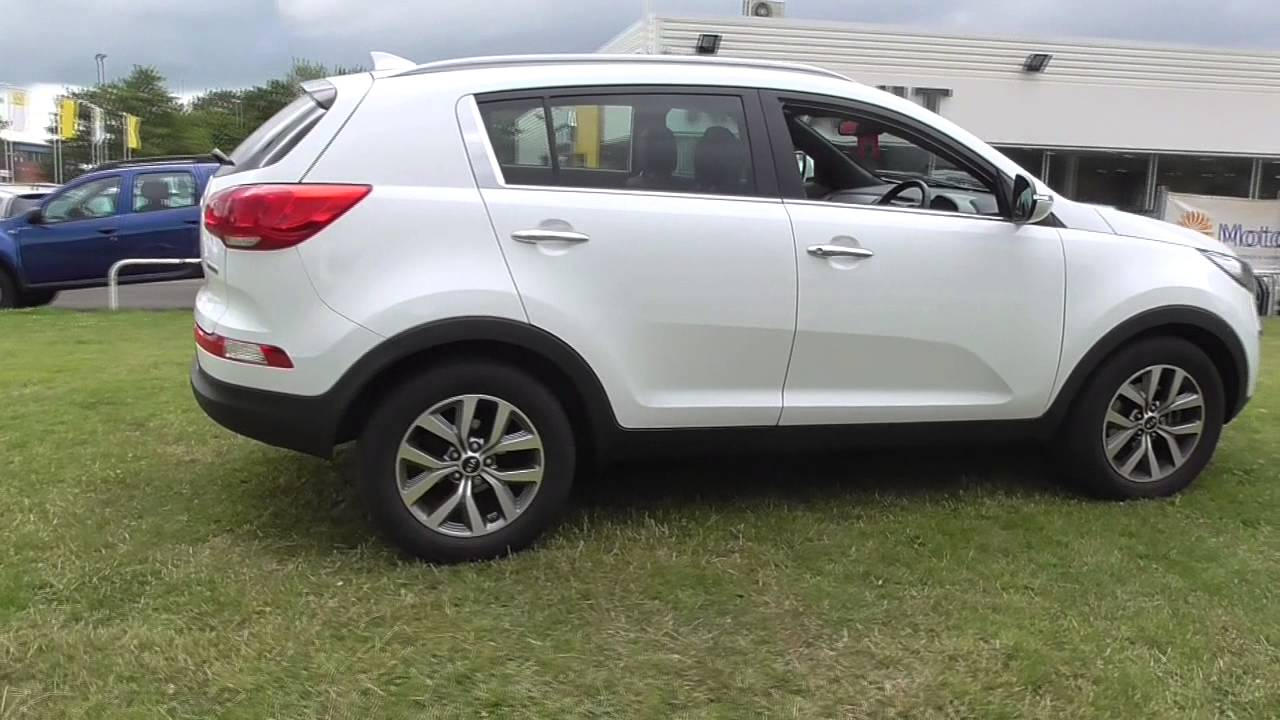 kia sportage 1 7 crdi white edition 5dr u40073 youtube. Black Bedroom Furniture Sets. Home Design Ideas