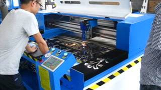 metal and nonmetal CO2 laser cutting machine RF-1325-CO2-150W