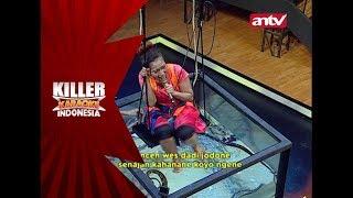 Afifah masuk ke dalam akuarium yang berisi ular! – Killer Karaoke Indonesia