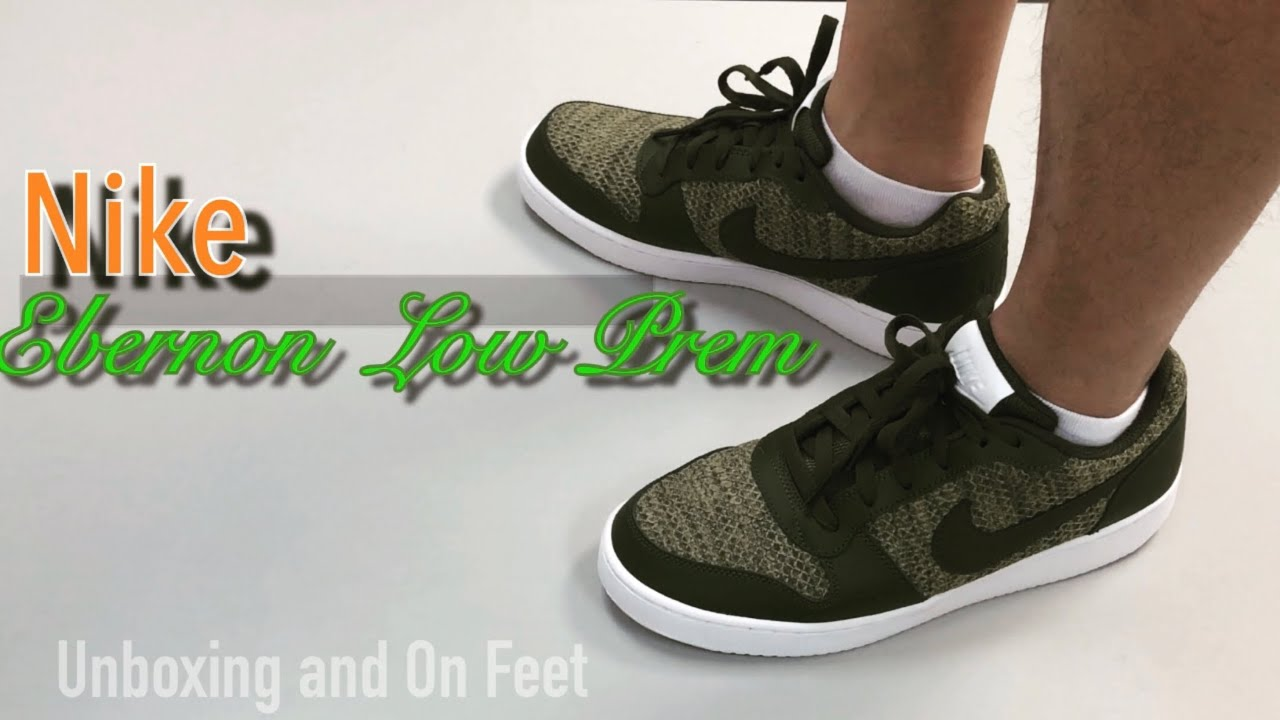 Nike Ebernon Low Prem | Unboxing and On