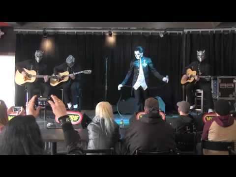 """""""Ghost"""" Performs an Acoustic Set (aka Afternoon Mass) with 101 WRIF"""