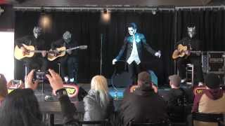 """Ghost"" Performs an Acoustic Set (aka Afternoon Mass) with 101 WRIF"