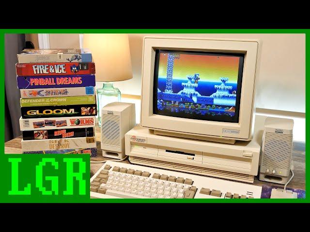 LGR - Building a Checkmate Amiga 1200 Plus!