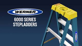 Werner Ladder - 6000 Series Fiberglass Step Ladders