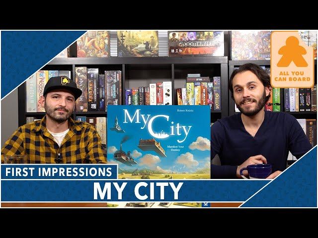 My City First Impressions | What Did We Think (and How Does it Rank with Other Knizia Games?)