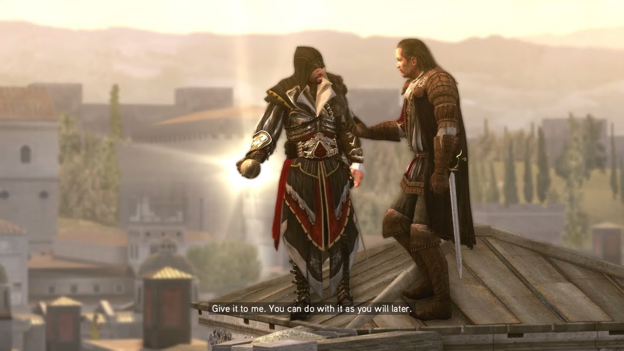 Assassin S Creed Brotherhood Ps4 Opening Cutscene Gameplay