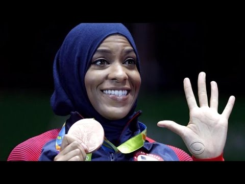 Muslim Olympic fencer makes history