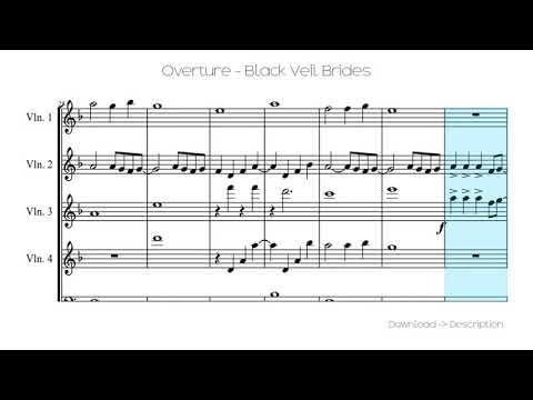 🎶 Overture - Black Veil Brides 🎸🎸