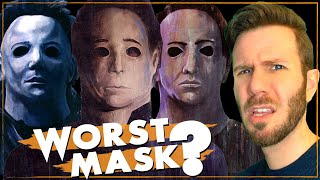 ALL MICHAEL MYERS MASKS RANKED | How many have there been?