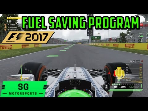 F1 2017 | Practice Fuel Saving Program | Lift and Coast Method | Tips and Tricks