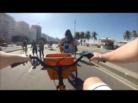 Passeio de bicicleta em Copacabana - Rio de Janeiro
