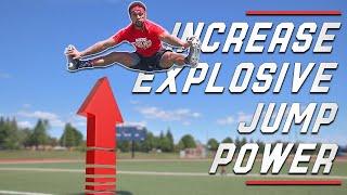 TOP 5 EXPLOSIVE PLYOMETRIC JUMP EXERCISES // Jump Higher & Sprint Faster