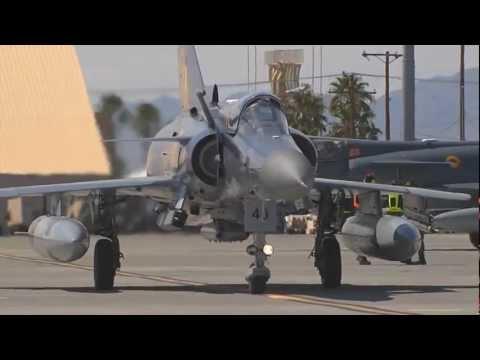 Kfir Fighter Jets - Columbian Air Force